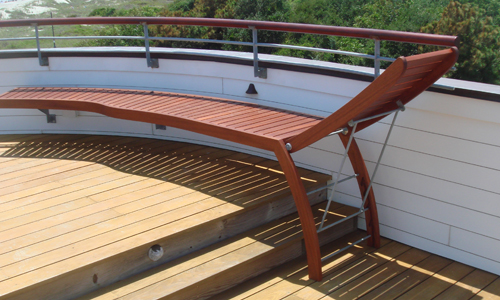 integrated Rooftop Deck Furniture