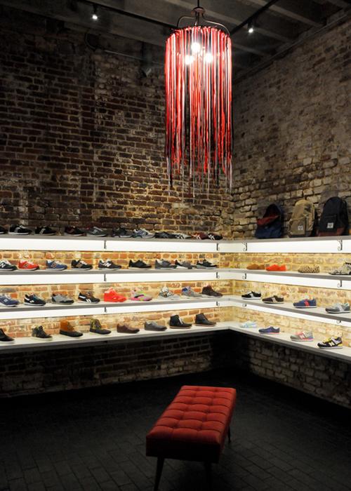 Sneaker Footwear Boutique, King Street, Charleston SC