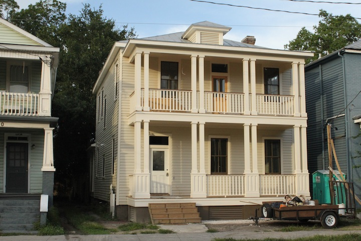638 Rutledge Avenue, with newly reconstructed porches completed.