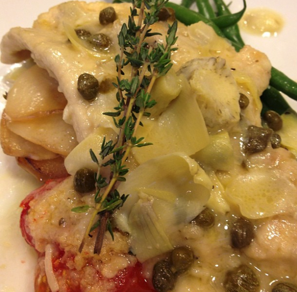 Chicken Filet with Roasted Artichoke and Caper Beurre Blanc..png