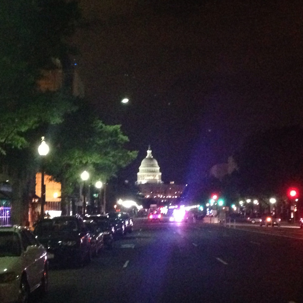 Pennsylvania Avenue, view of the Capitol Building