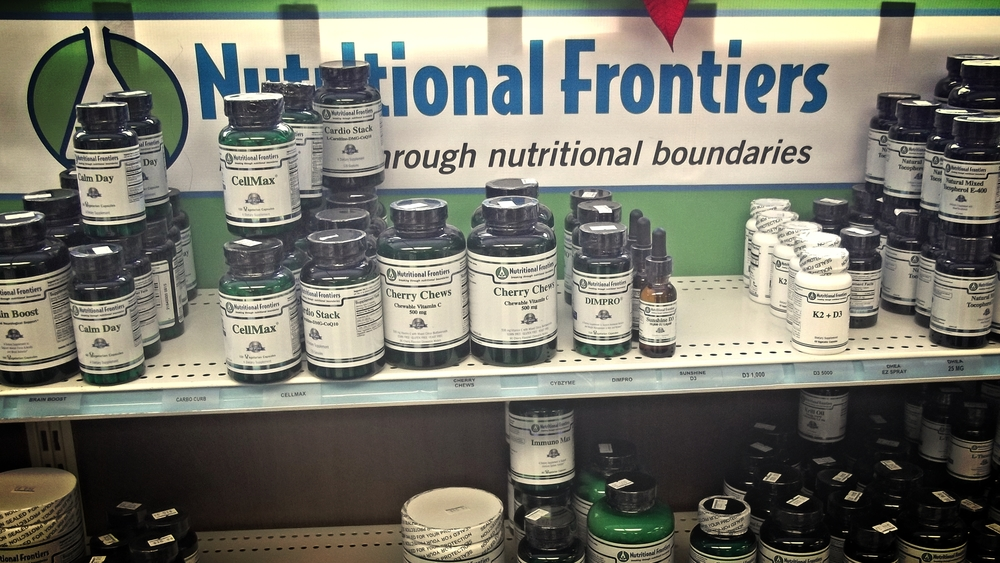 Nutritional Frontiers: breaking through nutritional boundaries - CLICK TO BUY!