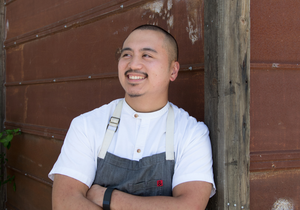 James Dumapit, sous chef at Uchiko
