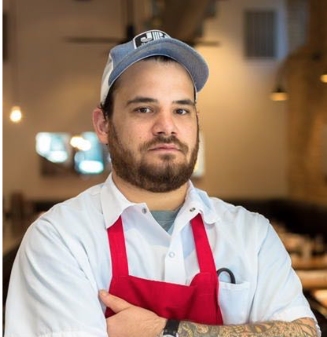 Victor Sandoval worked his way up the ranks in various kitchens in Dallas- from washing dishes to running a pizzeria.  Later working at Chef Matt McCallister's FT33 and Tim Byres' Smoke. Presently the Sous Chef at the award winning Parkside where he pushes his culinary boundaries at and away from the restaurant.