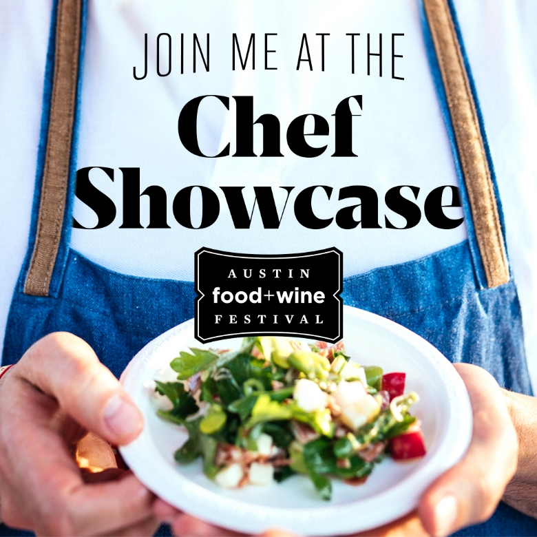 """Apis is regarded as a destination dining experience in the Texas Hill Country so participating in such a big Austin event is an absolute honor. I'll be showcasing my favorite dishes at the @ Austin Food + Wine Festival  Chef Showcase April 29, 2018 serving up my Sunday best."" Tickets available at  http://bit.ly/2EWcrt9 ."" - Chef Taylor Hall"