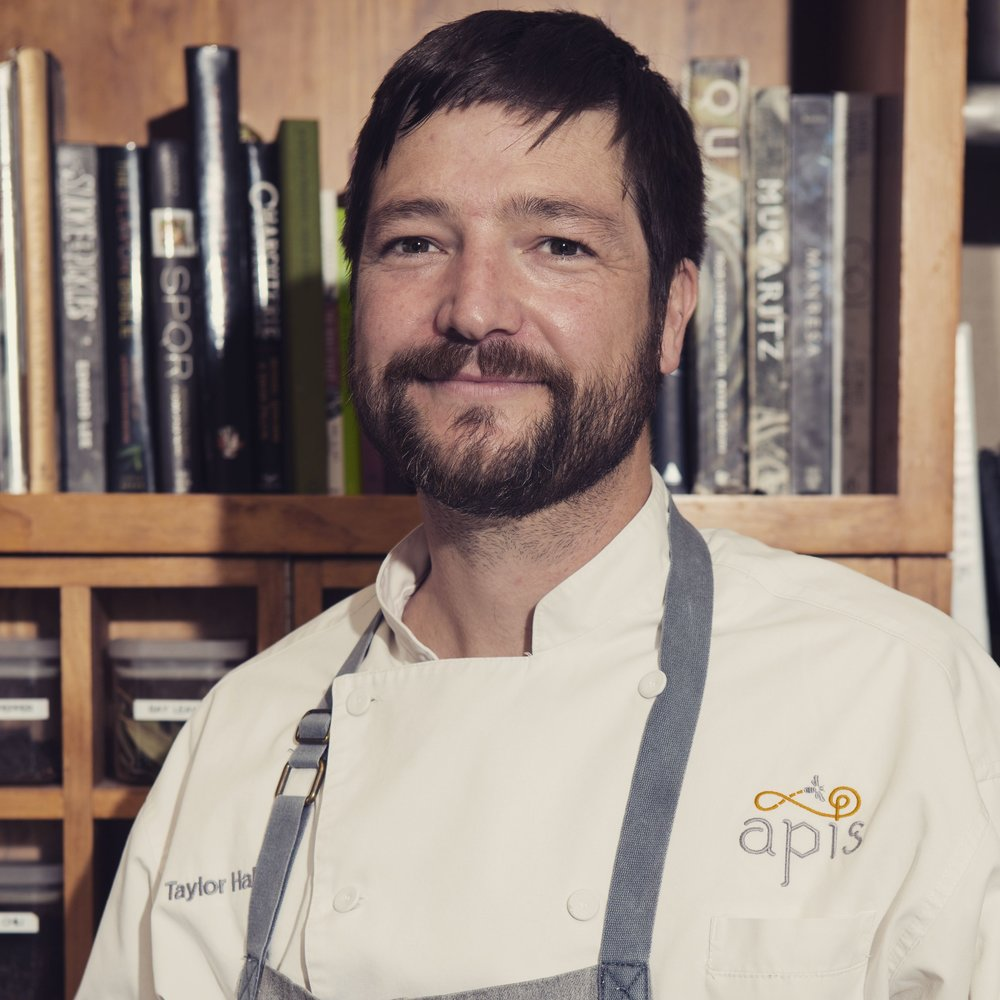 Executive Chef and owner Taylor Hall