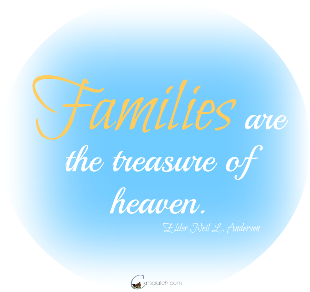 Families are treasures