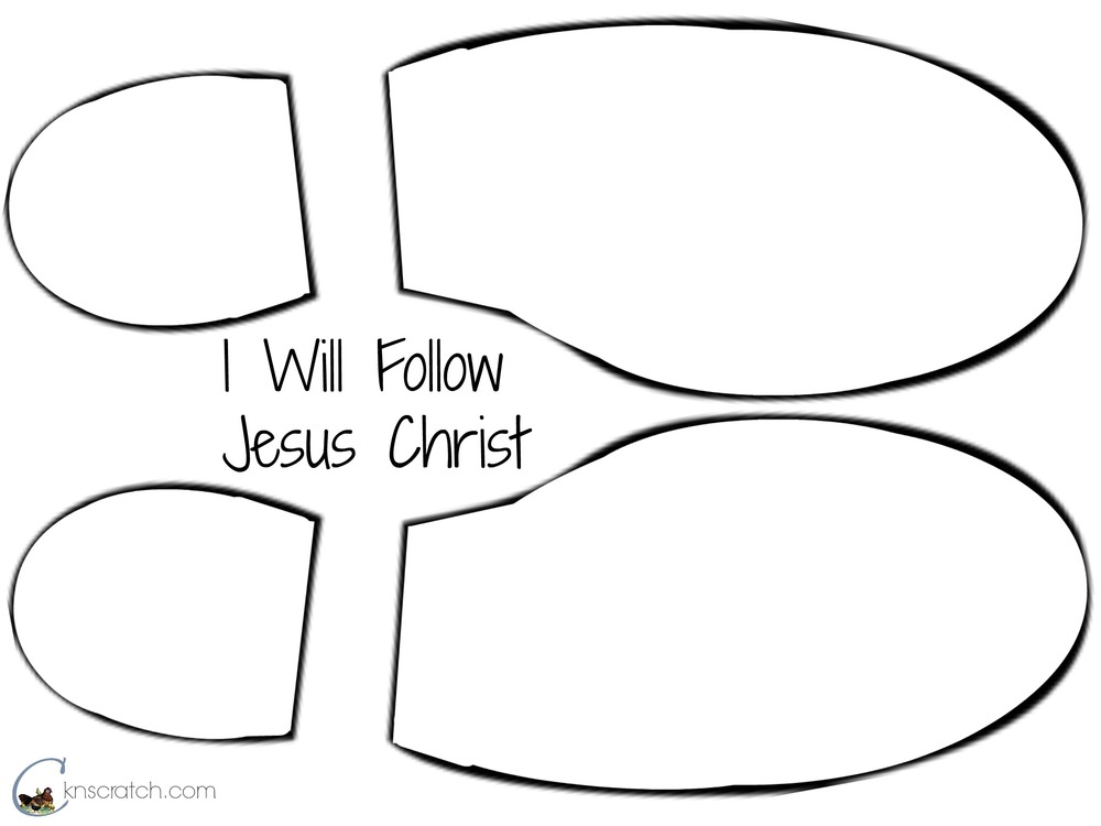 follow jesus coloring pages - photo#26