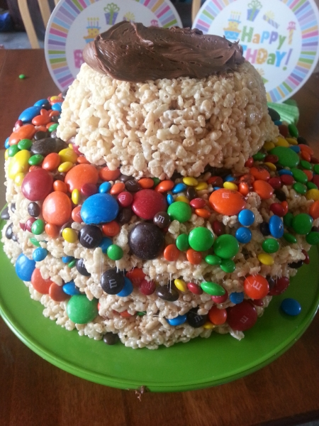 Rice Krispie Cake by Camille