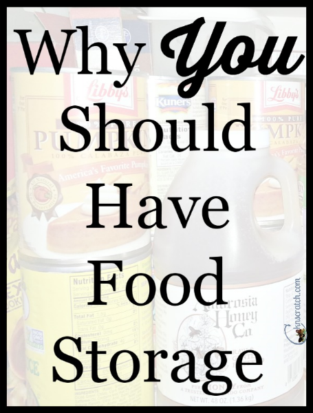 Why YOU should have food storage +Coupon code and GIVEAWAY!