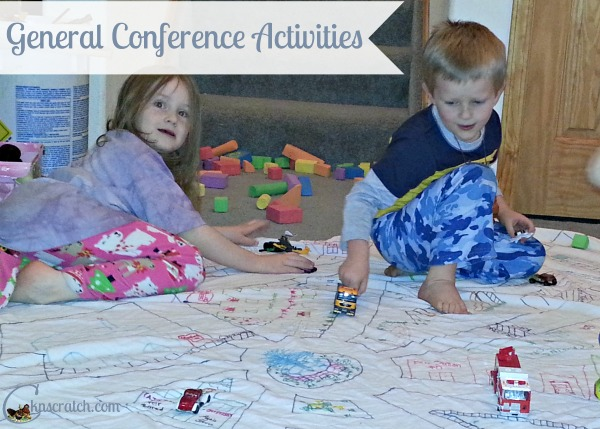 So many great General Conference Activity ideas (beyond just a packet)