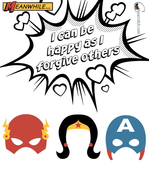 Love the superheroes- Primary 2 Lesson 40 handouts and helps