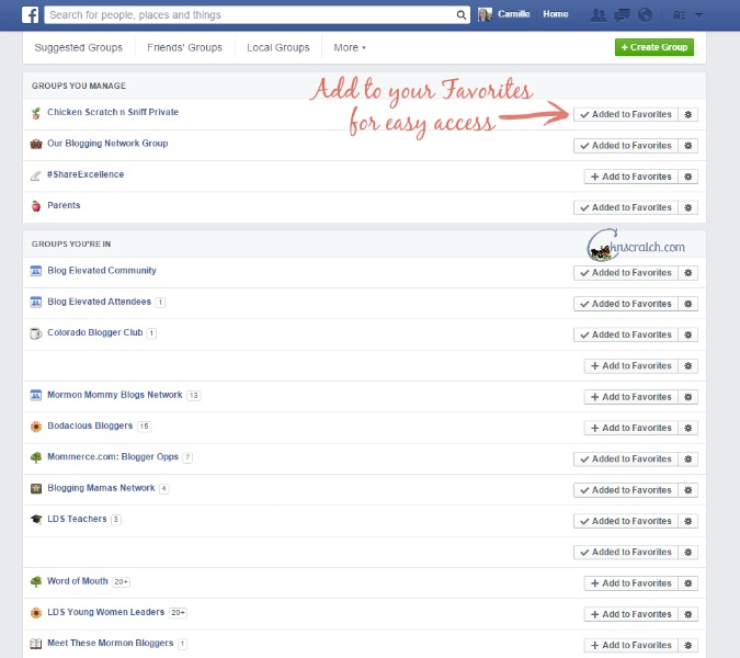 How to find your Facebook Group again even after you turned off the notifications
