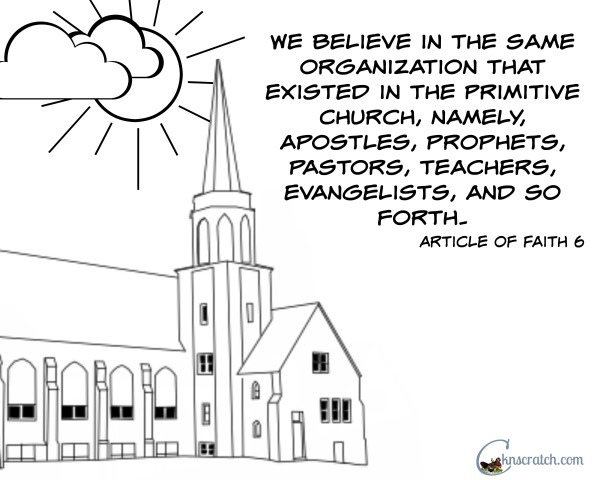 Love this Article of Faith 6 coloring page (great with Primary 2 Lesson 42)