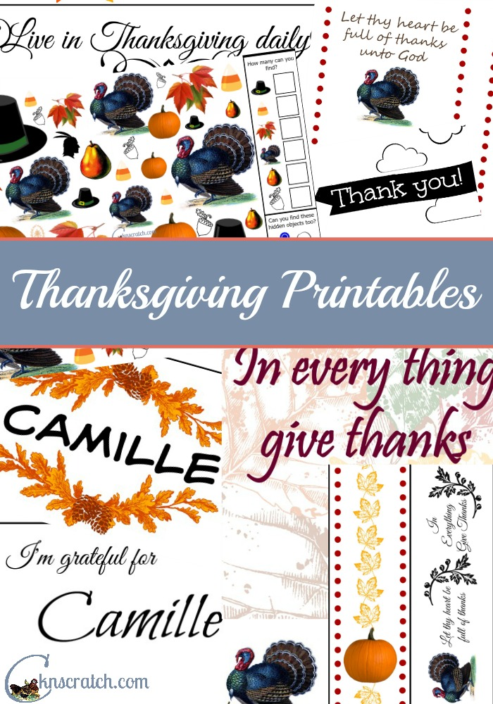 Love this huge selection of Thanksgiving decorations and activities!