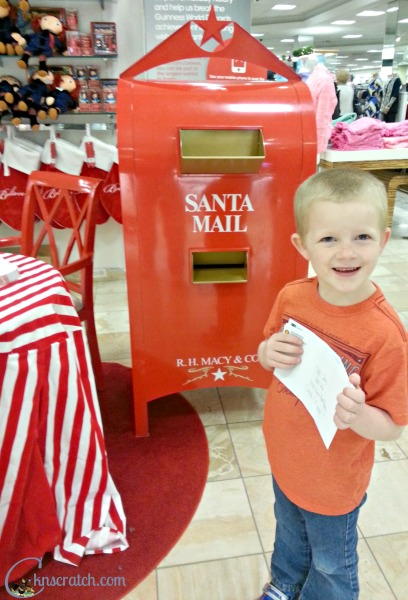 Send a letter to Santa AND give to Make-A-Wish thanks to #MacysBelieve