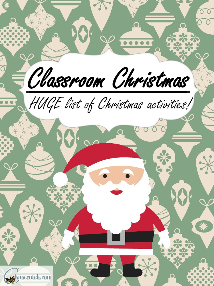 LOTS of great activities for Christmas with kids- great for primary for FHE!