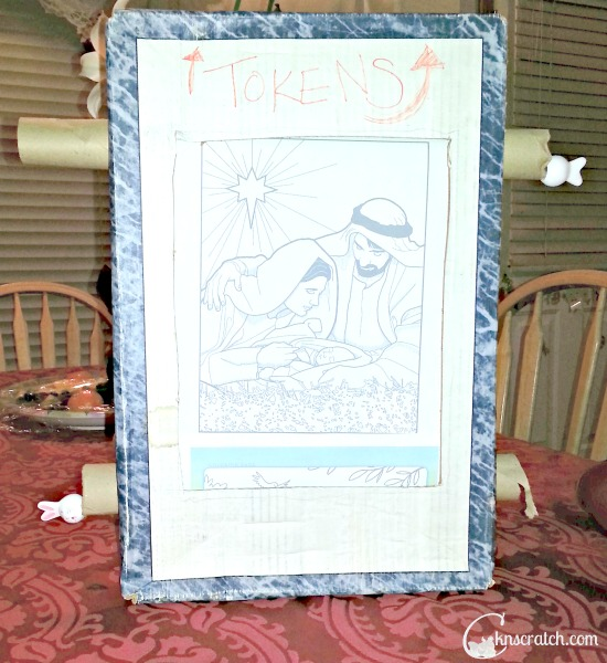 Turn coloring pages into a moving story- great way to tell the story of Easter.