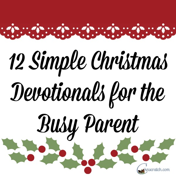 Love these Christmas devotionals- the little movie clips are just perfect