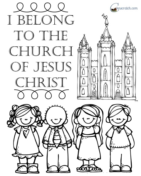 coloring pages church of christ - photo#13