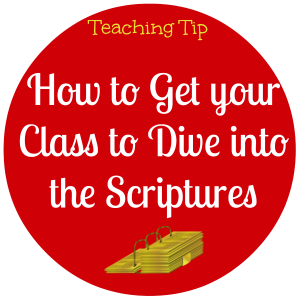 Dive into the scriptures