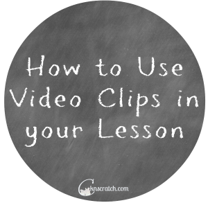 Using movie clips in your church lessons