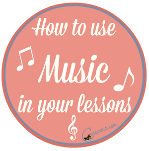 Using music in your lessons