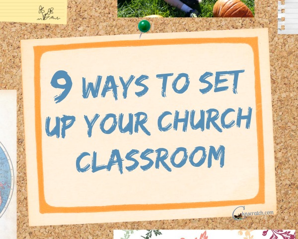 Great ideas to set up your church classroom