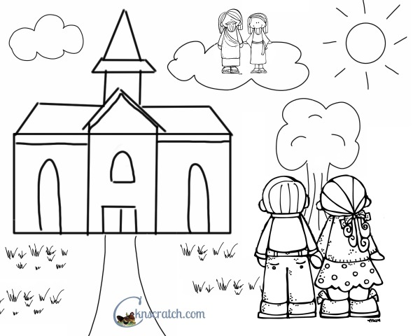 Great for little ones! Remembering the Sabbath day