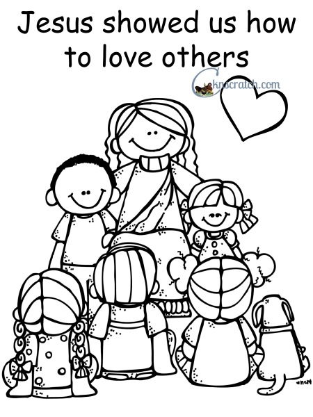 Behold your little ones lesson 5 jesus christ showed us for Jesus was a child like me coloring page