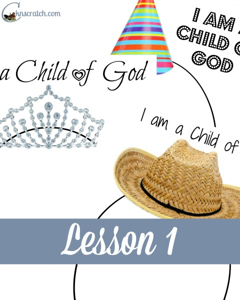 Great helps and handouts for Behold Your Little Ones Lesson 1