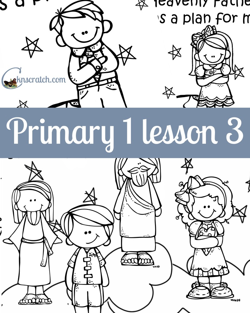So many great ideas for Primary 1 Lesson 3!!