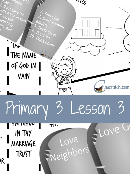 Lots of great handouts to choose from for LDS Primary 3 Lesson 3! LOVE LOVE this site!