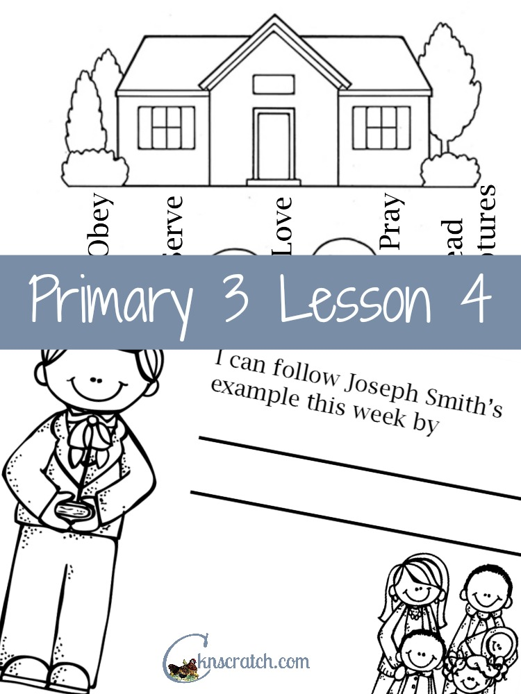 So thankful I found this site! LDS Lesson helps for Primary 3 lesson 4
