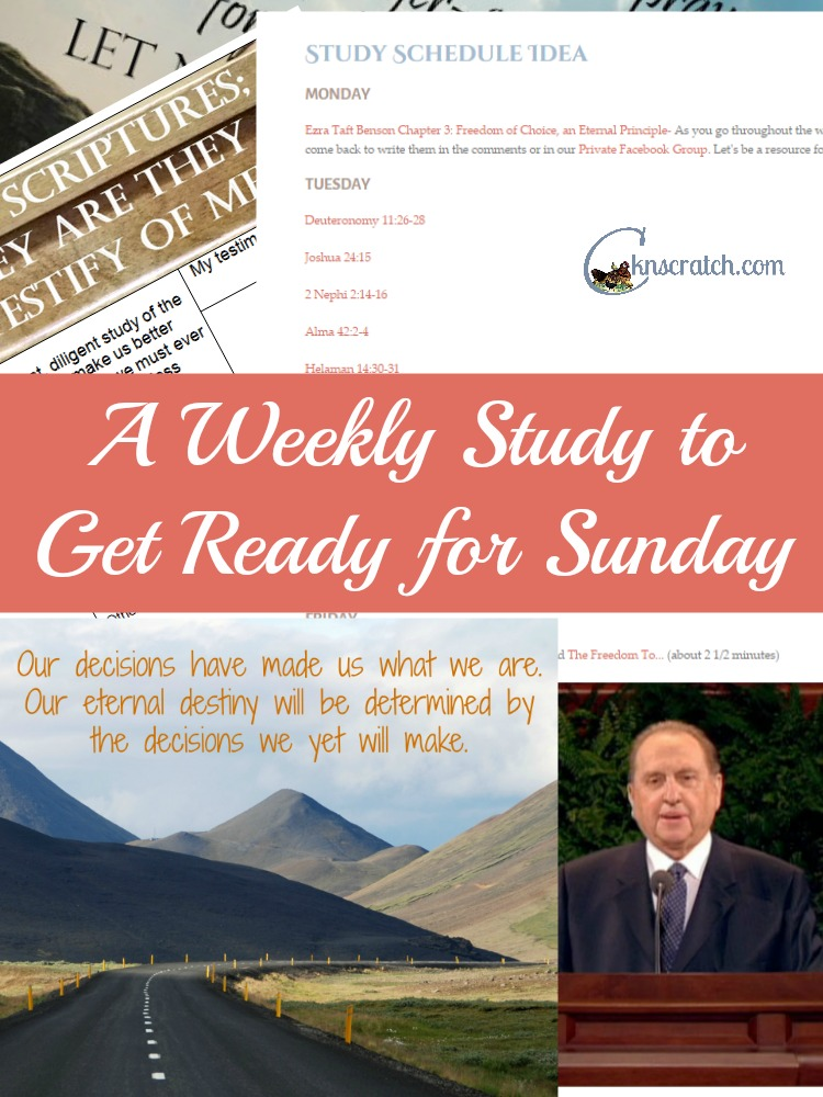 Get more out of your weekly meetings with our Weekly LDS Study Guides