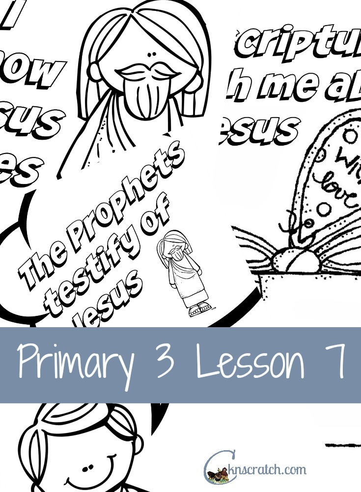Great handouts for Primary 3 Lesson 7: Having Faith in Jesus Christ