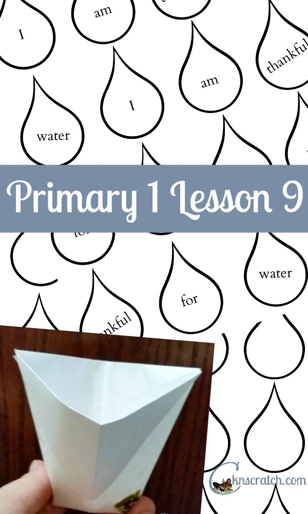 Great ideas for Primary 1 Lesson 9