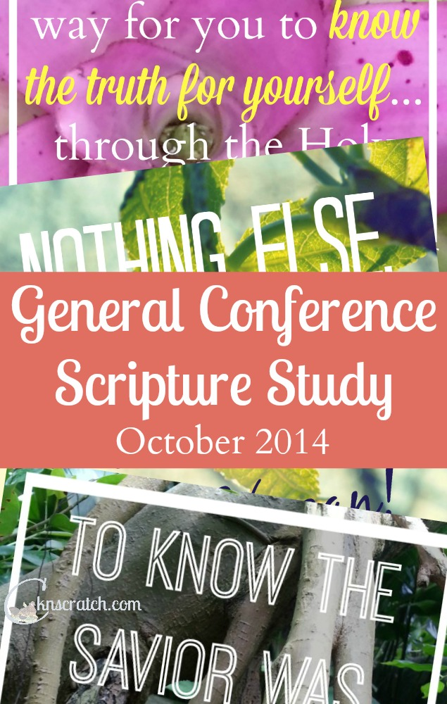 Join the General Conference Scripture Study!