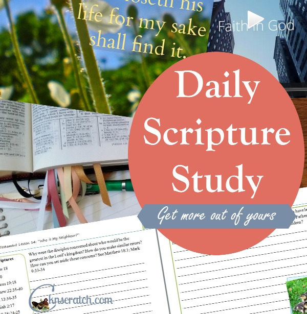Join our Premium Scripture Study program and enjoy more everyday