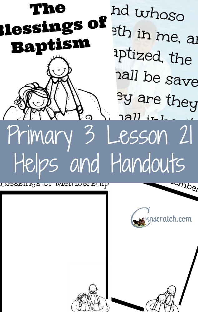 Great helps and handouts for Primary 3 Lesson 21: We receive great blessings as member of Jesus Christ's Church. I love having all these resources in one place!