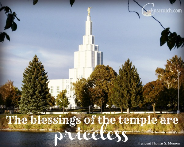 The blessings of the temple are priceless. Love this LDS Study Journal about the temple!