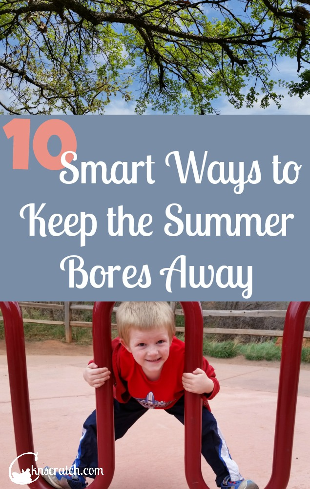 Great ideas to keep the kids busy and active this summer!