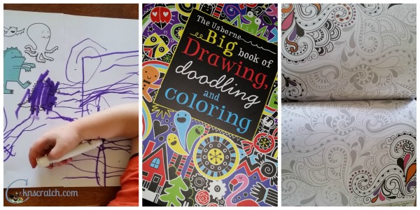 Love these coloring books!