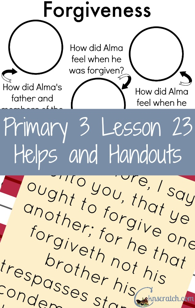 Lifesaver of a blog- LDS Primary lesson helps and handouts!