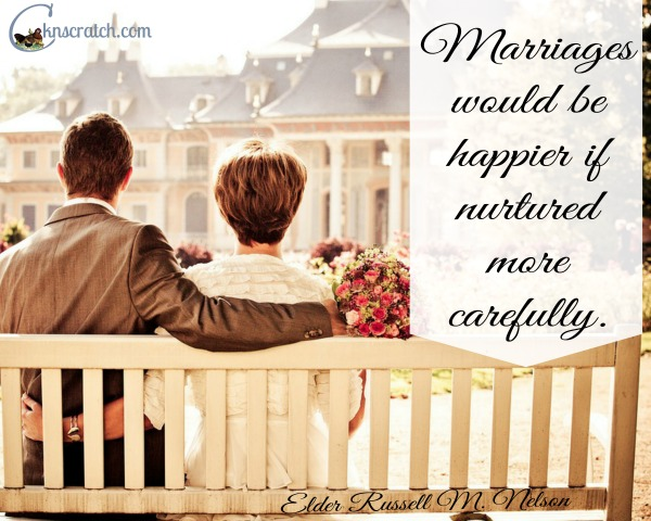 Are you nourishing your marriage?