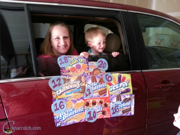 Love this idea- at home ice cream truck!