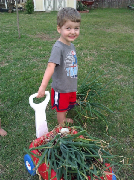 Love these tips on getting kids involved in gardening too