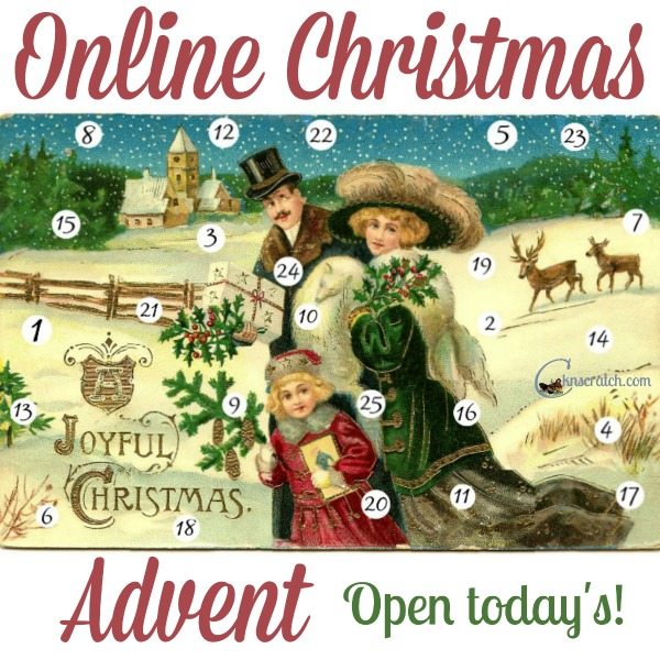 Christmas Advent calendar that you do online- so fun!