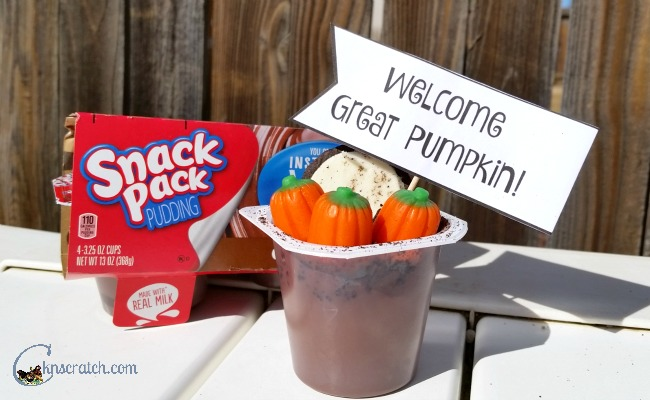 The Great Pumpkin! Such a great idea to do for a Peanuts Halloween!