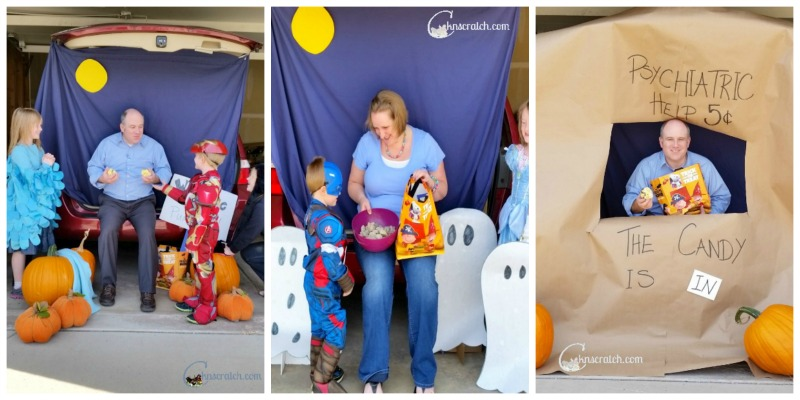 Super fun for Trunk or Treat! Peanuts Halloween ideas